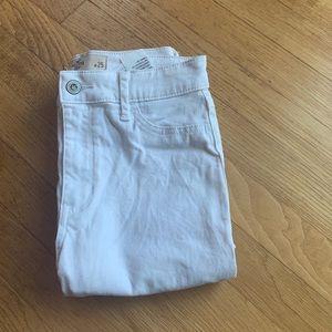 White Hollister Skinny Jeans